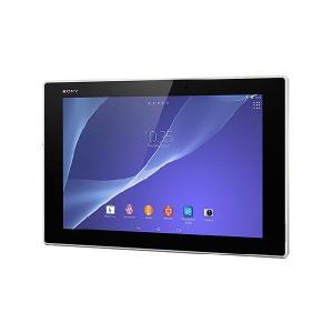 【メーカー1年保証、液晶保護シートサービス】 SONY Xperia Z2 Tablet SGP512JP/W ホワイト Wi-Fiモデル 軽量・防水|fujimasushop