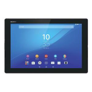 【メーカー1年保証】 SONY Xperia Tablet Z4  SGP712JP/B ブラック Wi-Fiモデル 軽量・防水|fujimasushop