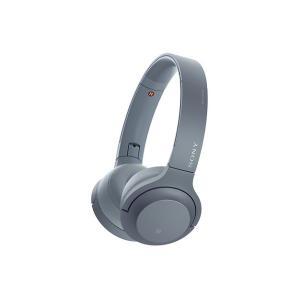 【メーカー一年保証】SONY h.ear on 2 Mini Wireless WH-H800 ムーンリットブルー ハイレゾ音源対応 100kHz再生を実現|fujimasushop