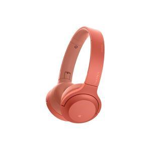 【メーカー一年保証】SONY h.ear on 2 Mini Wireless WH-H800 トワイライトレッド ハイレゾ音源対応 100kHz再生を実現|fujimasushop