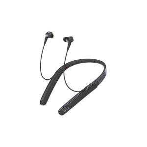 【メーカー一年保証】SONY WI-1000X ブラック ハイレゾ音源対応 長時間リスニングも快適なネックバンドスタイル|fujimasushop