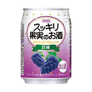 宝(タカラ)酒造 TaKaRa タカラcanチューハイ スッキリ果実のお酒 【巨峰】 250ml×24本