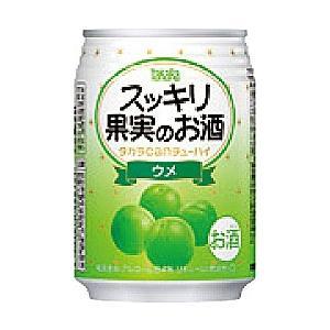 宝(タカラ)酒造 TaKaRa タカラcanチューハイ スッキリ果実のお酒 【ウメ】 250ml×24本