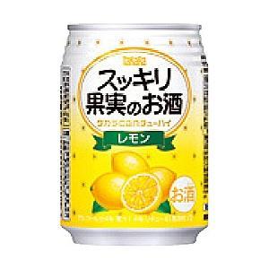 宝(タカラ)酒造 TaKaRa タカラcanチューハイ スッキリ果実のお酒 【レモン】 250ml×24本