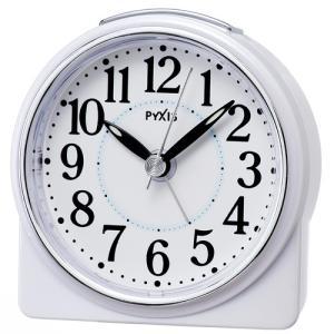 時計 セイコー SEIKO NR439W 目覚まし時計 PYXIS ピクシス|fujimoto-tokeiten