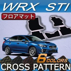 スバル WRX STI フロアマット (クロス) fujimoto-youhin