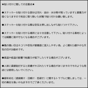 クルマに貼っておもしろくカスタマイズ おもしろステッカー|fujimoto-youhin|02