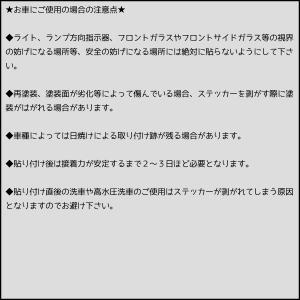 クルマに貼っておもしろくカスタマイズ おもしろステッカー|fujimoto-youhin|03