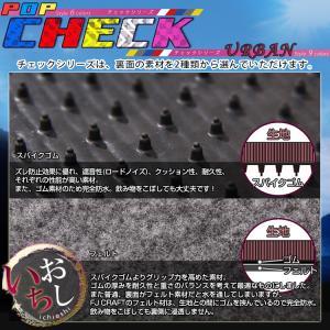 新型 日産 セレナ C27系 (ガソリン車) フロアマット (チェック) fujimoto-youhin 04