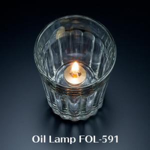 オイルランプ FAIRY'S FOL-591 Libbey Duratuff オイルタンクMGT-8付き【業務用】|fujinamisquare