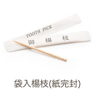 つまようじ e-style 袋入楊枝(紙完封) 1箱(1000本入り)【業務用】|fujinamisquare