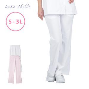 白衣 女性用 医療 ナース フィールドセンサーニットブーツカットパンツ 制菌 吸汗速乾 F-9000 S~3L fujinitt