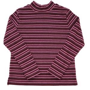 やわらかな風◇ソフトサーモ長袖ボーダーハイネックTシャツ◇ソフトな肌触り◇軽くて暖か◇信頼の日本製|fujinitt