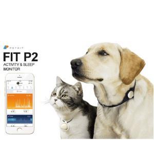 ベムパートナー 「FIT P2」ペット専用アクティビティモニター (グレー)|fujino-netshop