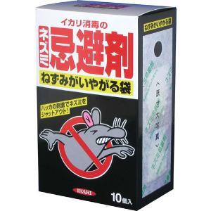 天井裏、床下、侵入口などに設置するネズミの忌避剤。