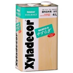 キシラデコール やすらぎ 4L ベロ(注ぎ口)付き!|fujino-netshop