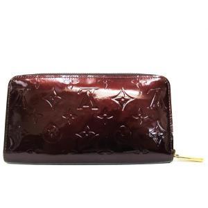1d9e509d9fcf ルイヴィトン Louis Vuitton ジッピーウォレット長財布 ルージュフォーヴィスト ヴェルニ M91536 8307