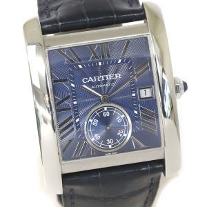 CARTIER カルティエ タンクMC メンズ オートマティック WSTA0010  (質屋 藤千商店) fujisen78