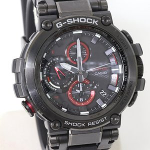カシオ G-SHOCK MT-G MTG-B1000B-1AJF Bluetooth搭載 電波ソーラー メタルベゼル   (質屋 藤千商店)|fujisen78