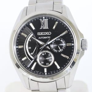 セイコー ブライツ SDGC023 メカニカル パワーリザーブ デイト メンズ 腕時計 自動巻 6R21-00W0 (質屋 藤千商店)|fujisen78