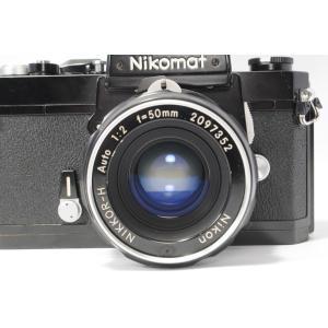 良品 Nikon Nikomat FT ニコン ニコマート フィルムカメラ レンズ NIKKOR-h 50mm 1:1.2