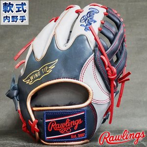軟式 カラー グラブ HOH MLB COLORSYNC 内野 ローリングス Rawlings 【野...