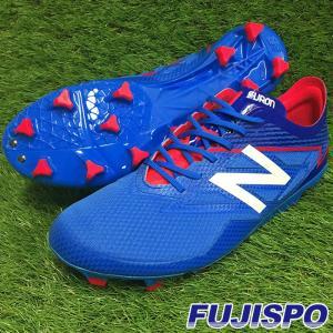 FURON PRO HG 2E / フュロン(MSFPHLT32E)ニューバランス サッカースパイク ブルー×ピンク【ニューバランス/NewBalance】|fujispo