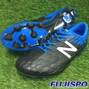 VISARO MID HG 2E / ビサロ(MSVMIHBL2E)ニューバランス サッカースパイク ブラック×ブルー【ニューバランス/NewBalance】|fujispo