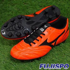 モナルシーダ 2 FS MD / MONARCIDA II(P1GA182354)ミズノ サッカースパイク オレンジ×ブラック【ミズノ/Mizuno】|fujispo