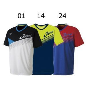 ミズノ ソフトテニス 日本代表応援 JAPAN Tシャツ 62JA8X81 メール便利用可|fujisports
