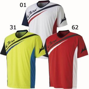 ミズノ ソフトテニス 日本代表応援 JAPAN Tシャツ 62JA8X82 メール便利用可|fujisports