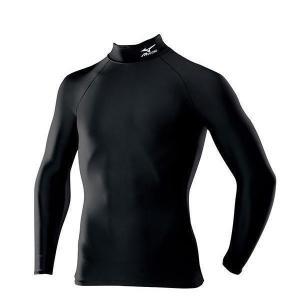 ミズノ バイオギア ドライアクセル ハイネック長袖シャツ A60BS350 09カラー メール便利用可 fujisports