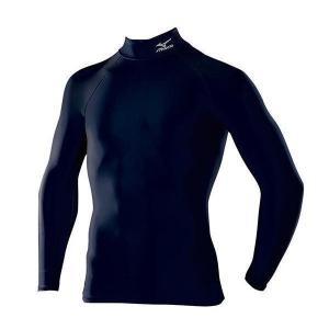 ミズノ バイオギア ドライアクセル ハイネック長袖シャツ A60BS350 14カラー メール便利用可 fujisports
