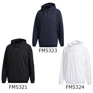 アディダス adidas メンズ パーカー MH 3ストライプス スウェット プルオーバーフーディ GUN40|fujisports