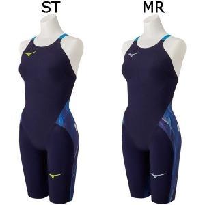 ミズノ レディース 競泳水着 ハーフスーツ GX・SONIC V N2MG0201 N2MG0202 20カラー fujisports