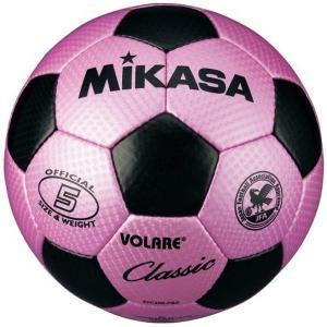 MIKASA ミカサ サッカーボール 検定球5号 SVC500-PBK 【取り寄せ品】