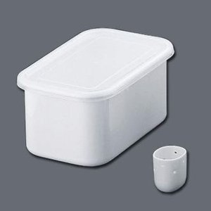 ホーロー ぬか漬け美人 冷蔵庫用ぬか床容器 3.2L|fujitadougu