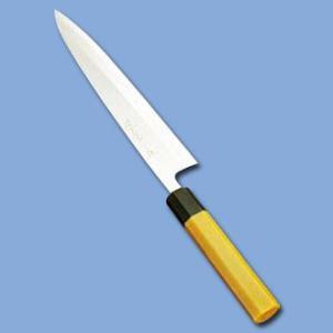 堺孝行 プラ柄 和庖丁 モリブデン鋼 プラスチック 抗菌柄身卸出刃 (片刃) 27cm  ATK-61