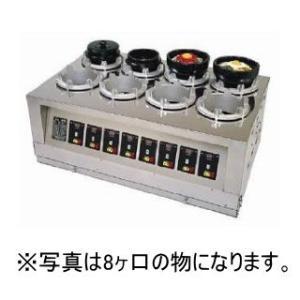 マイコン式 全自動石焼機 釜焼全州 TB-6型(6ヶ口) DKM-18|fujitadougu