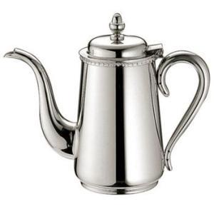 ● 衛生的な18-8ステンレス製のコーヒーポットです。