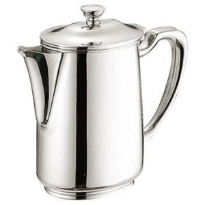 ● 衛生的な18-8ステンレス製のUKのコーヒーポットです。