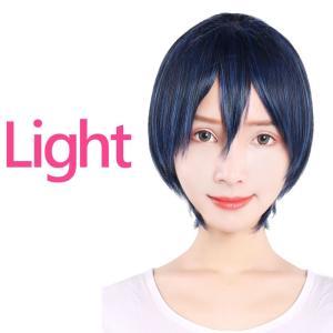 【送料無料】 メール便のみ 【ライトショート ネイビーブルー...