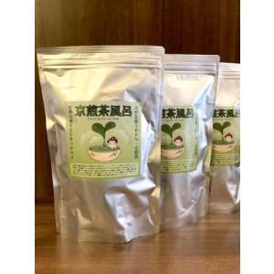 カテキン効果でお肌健康・京煎茶風呂(50パック入り)3個セット|fujiya-chaho