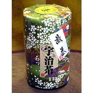 和紙缶入り宇治煎茶(70g) fujiya-chaho