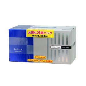 【コンドーム】マレ1500 12P×3箱(36個入)|fujiyaku