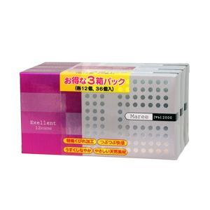 コンドーム マレ2000 12P×3箱(36個入)|fujiyaku
