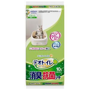 ユニ・チャームペット デオトイレ 消臭・抗菌シート10枚×24袋入り 1ケース JP