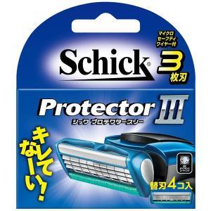 シック プロテクタースリーホルダー替刃(替刃4コ入り)
