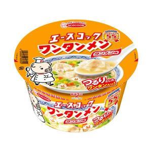 エースコックワンタンメンどんぶりタンメン味 12食入り×1ケース【クレジット決済のみ】KK
