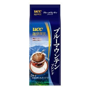 UCC 珈琲探究ドリップコーヒー ブルーマウンテンブレンド(5P/袋)×12袋(1ケース) (KT) T-富士薬品PayPayモール店